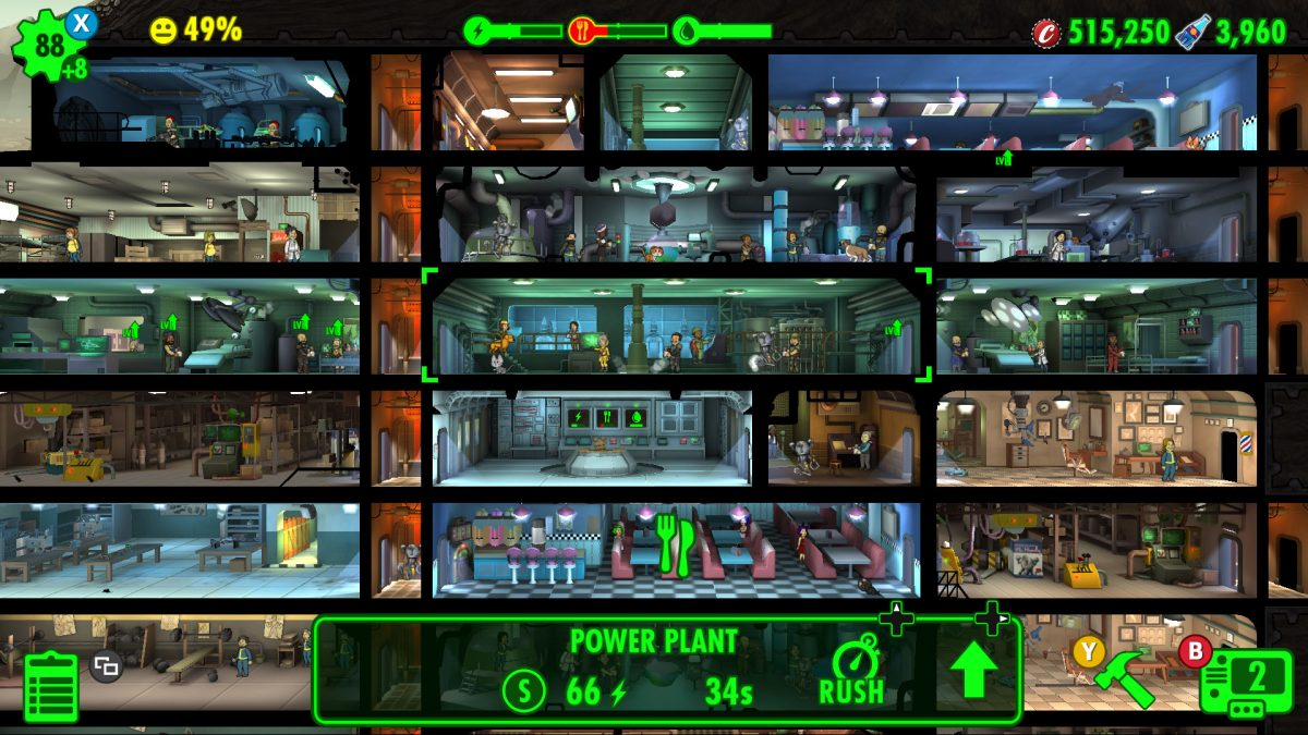 Fallout Shelter sur Android