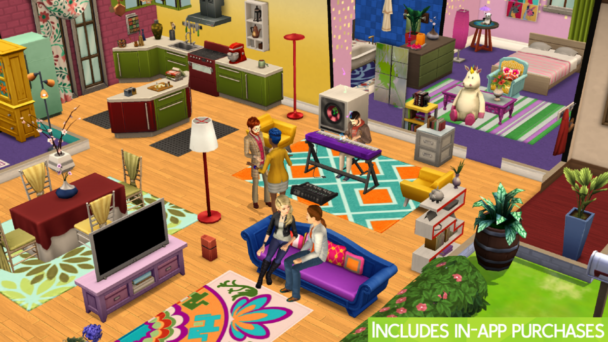 Les Sims Mobile 2