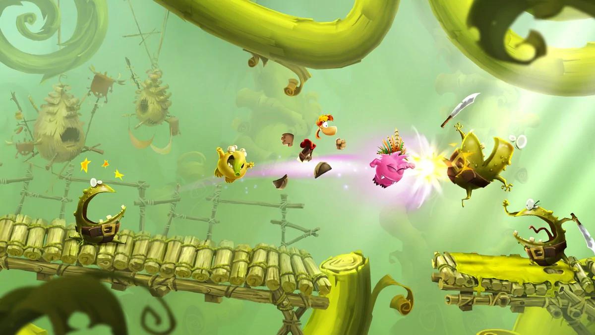 test du jeu Rayman Adventures