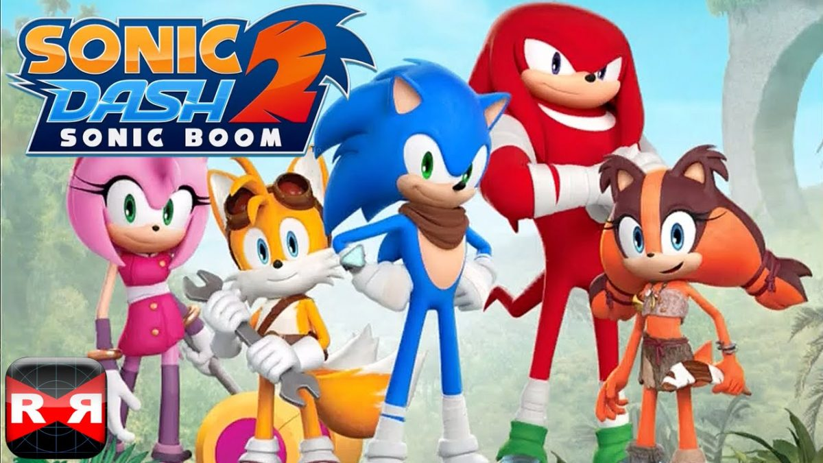 jeu vidéo Sonic Dash 2 Sonic Boom