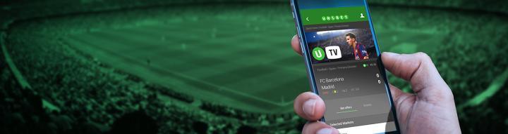 Unibet sur smartphone